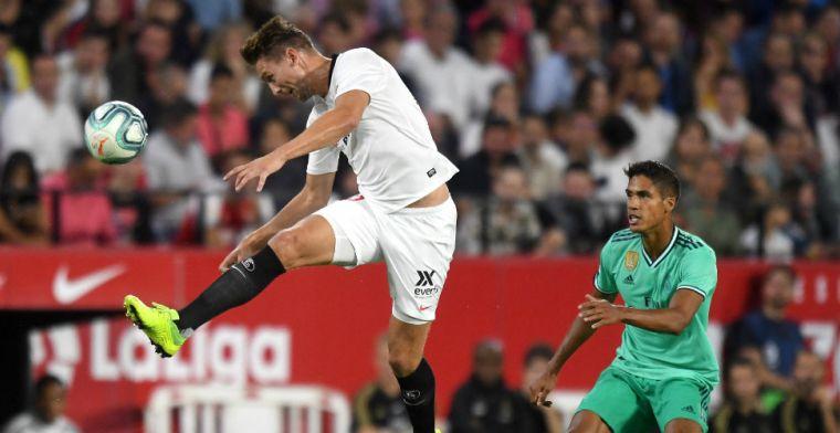 De Jong en Sevilla boeken spectaculaire zege op Sociedad; Strootman speelt gelijk