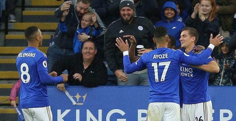 Leicester is 'op kampioenskoers' na voetbalshow tegen onthutsend Newcastle