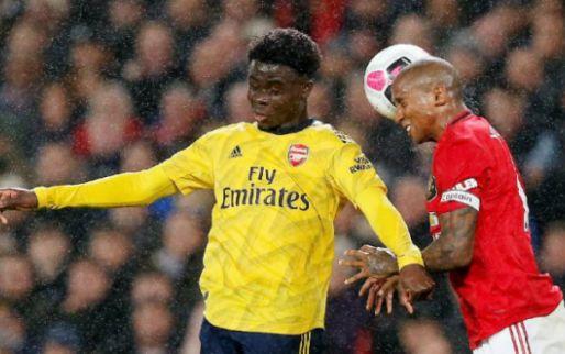 Afbeelding: Teleurstellende topper tussen Man United en Arsenal eindigt in gelijkspel