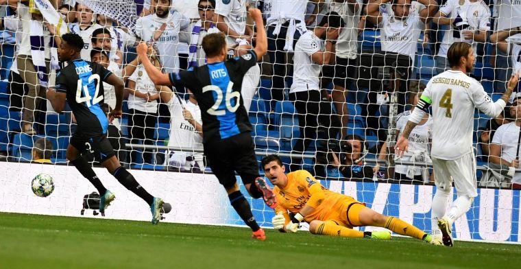 Club Brugge stunt tegen Real Madrid, maar baalt na late ...