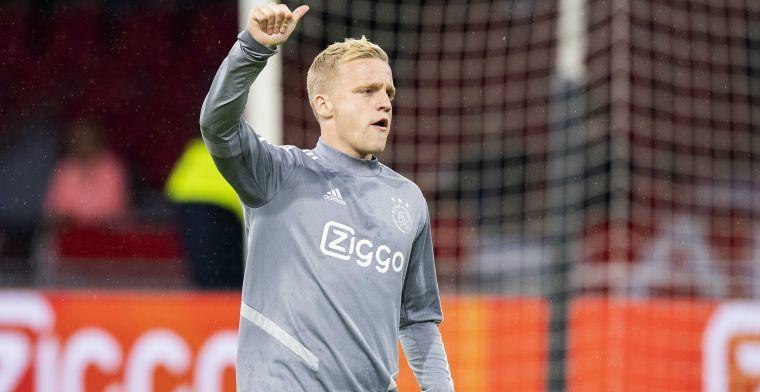 'Real stuurt scouts naar Mestalla: Van de Beek en twee Ajax-ploeggenoten bekeken'