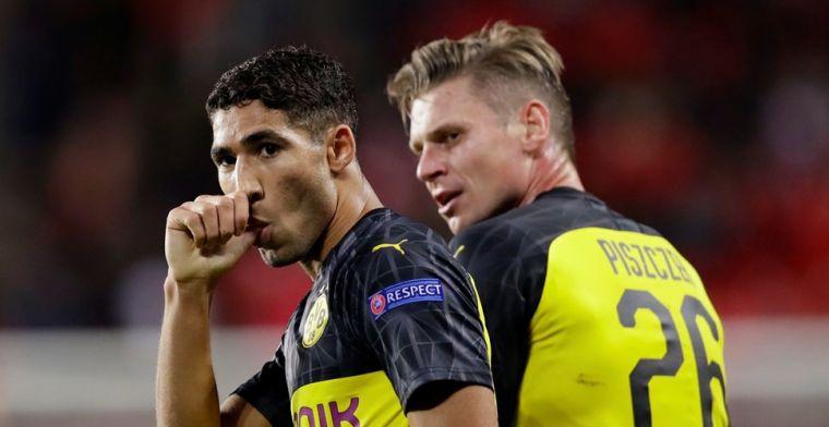 Uitblinkende Hakimi leidt Dortmund naar zege, Napoli wint niet in België