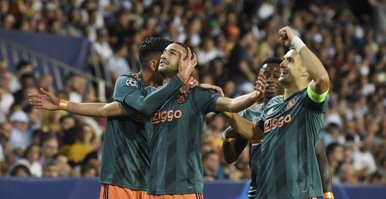 LIVE: Ajax wint opnieuw met 0-3 in de Champions League (gesloten)