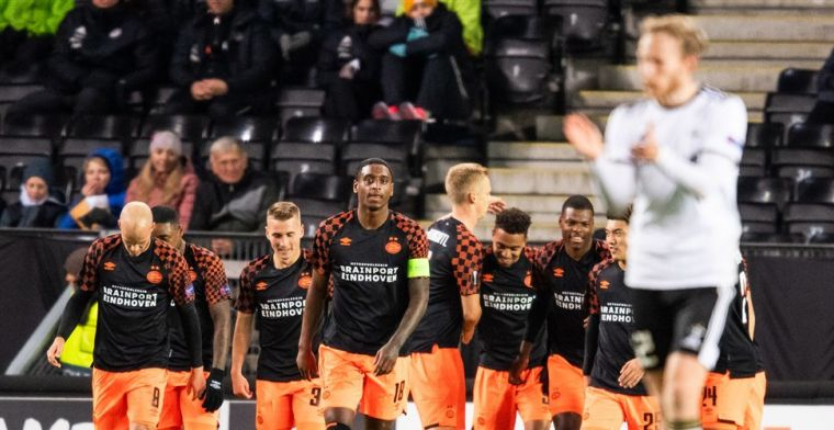 PSV wint zeer eenvoudig en maakt prachtige Europese week compleet