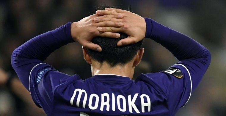 Morioka blikt vooruit op clash met Anderlecht: Ik hoop in elke match te scoren