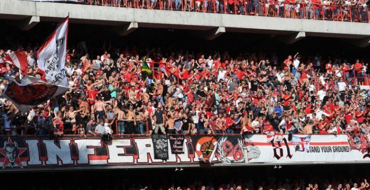 'Londense politie moet ingrijpen: Standard-fans worden uit elkaar gedreven'
