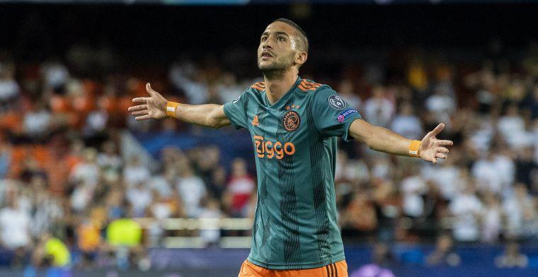 'Ajax sloopt clausule uit contract Ziyech, Overmars kan de hoofdprijs vragen'