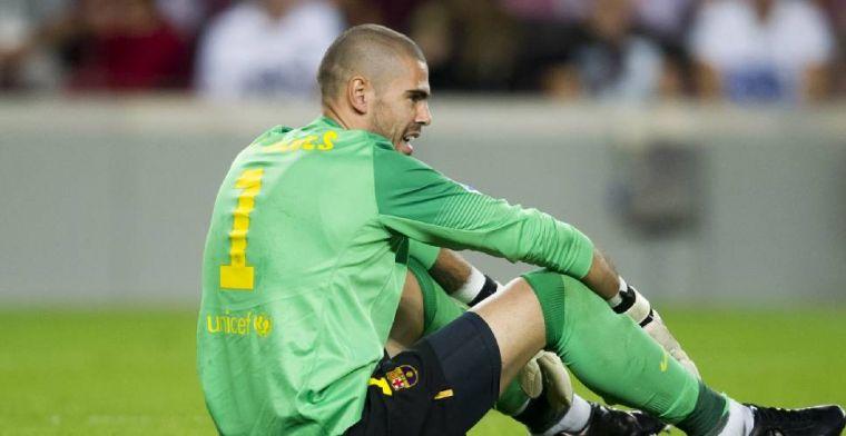 Einde verhaal: 'Valdes wordt maandag ontslagen bij FC Barcelona'