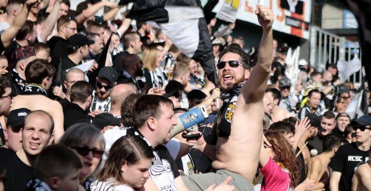 Fans van Anderlecht krijgen bijzonder mooi onthaal van Charleroi