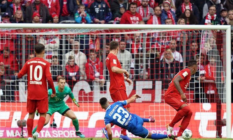 Afbeelding: Hoffenheim stunt tegen Bayern, Dortmund-Belgen slikken late gelijkmaker
