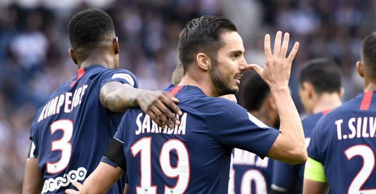 PSG dankt Sarabia en heeft Meunier niet nodig in partij tegen Angers