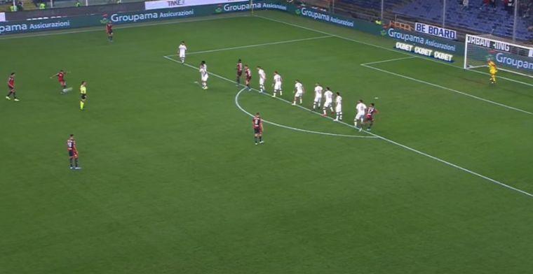 Schöne maakt eerste treffer in Serie A: Reina blundert na snoeiharde vrije trap