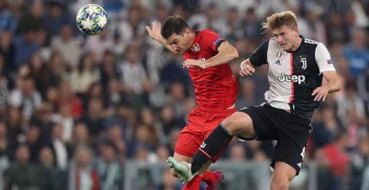 De Ligt krijgt groot compliment bij Juventus: 'Er sond te veel druk op hem'