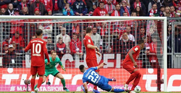 Hoffenheim stunt tegen Bayern, Dortmund-Belgen slikken late gelijkmaker