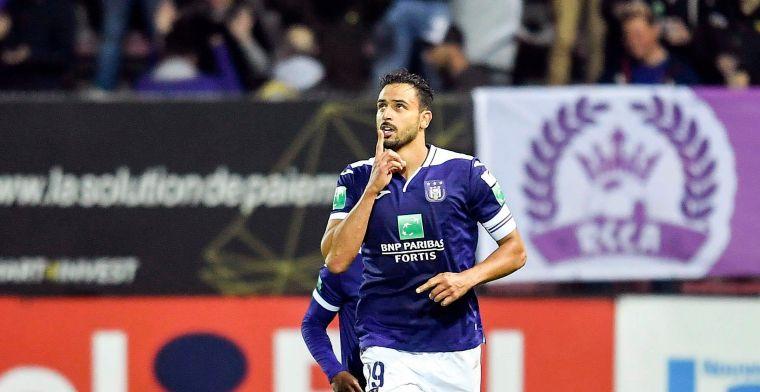 Anderlecht had twee keer reden tot klagen: Geen handspel en fout tegen protocol