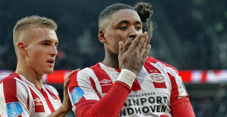 Malen schroeft Eredivisie-productie op naar tien doelpunten bij ruime zege PSV