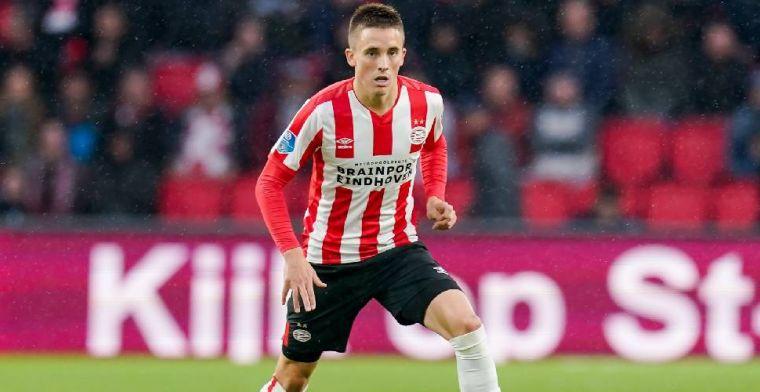 'Hoe de fans van PSV reageerden toen ik in het veld kwam, was geweldig'