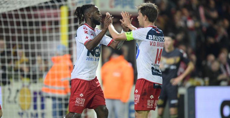 KV Kortrijk mag nog eens een overwinning vieren: Eindelijk!