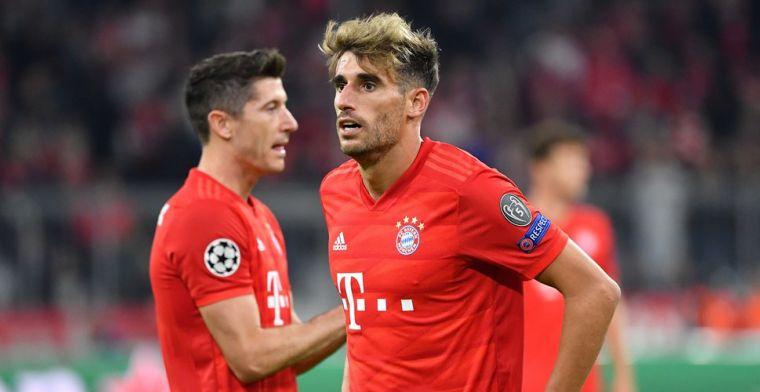 Martinez huilt bij Bayern München ... omdat hij op de bank moet plaatsnemen