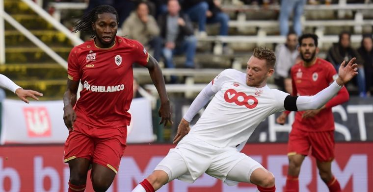 Antwerp geeft dubbele voorsprong uit handen na doelpunten van Emond
