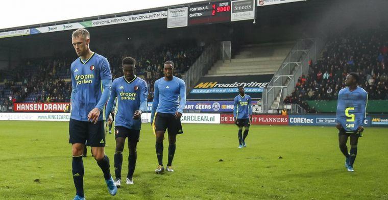 Feyenoord met de grond gelijk gemaakt: Dat kan absoluut niet op dit niveau