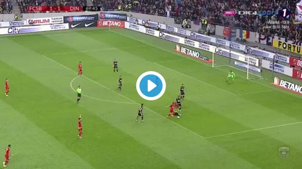 Roemeense ref krijgt stadion over zich in derby: geen goal, maar fout gefloten