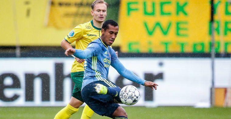 Harde kritiek op 'schandalig' Feyenoord: Alsof hij in de zaal aan het ballen is