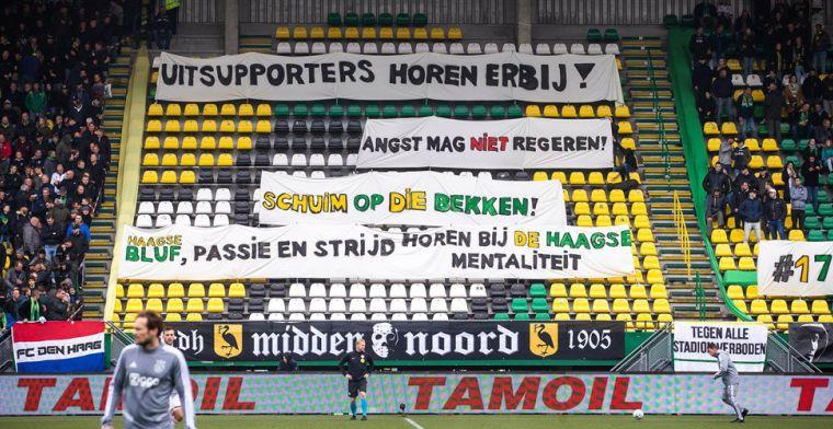 'Als Van der Sar het echt zo zwaar opneemt, moet hij ook Feyenoord-fans toelaten'