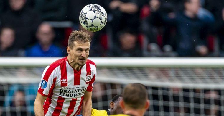 Tweede basisplaats bij PSV: Dan is het niet makkelijk om in het team te komen