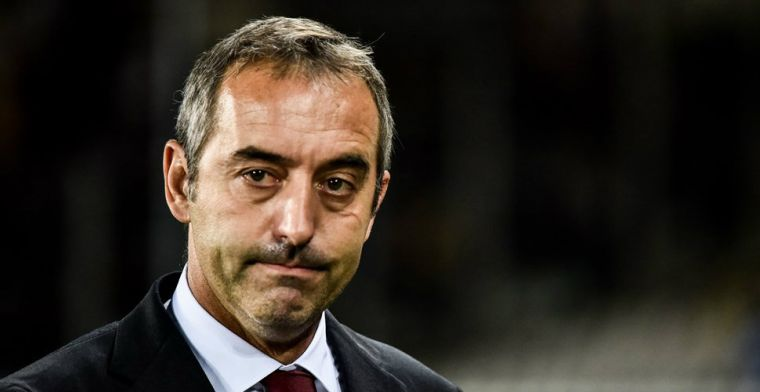 Update: AC Milan komt met statement: Giampaolo al na zeven duels ontslagen