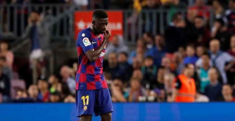 Barça snapt niets van uitsluiting Dembélé: 'Hij kan niet eens praten'