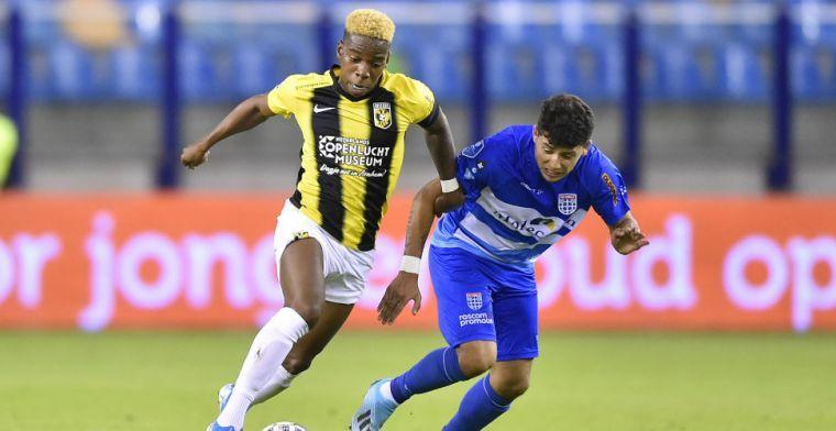 Update: Vitesse kan lang niet beschikken over middenvelder; operatie succesvol