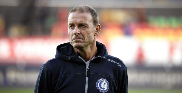 """De Witte corrigeert uitspraken Thorup: """"Hij sprak de KAA Gent-spelers anders toe"""""""