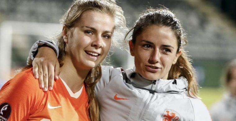 Schitterende mijlpaal voor Van de Donk bij Oranje: 'Ik hoop dat ze trots is'
