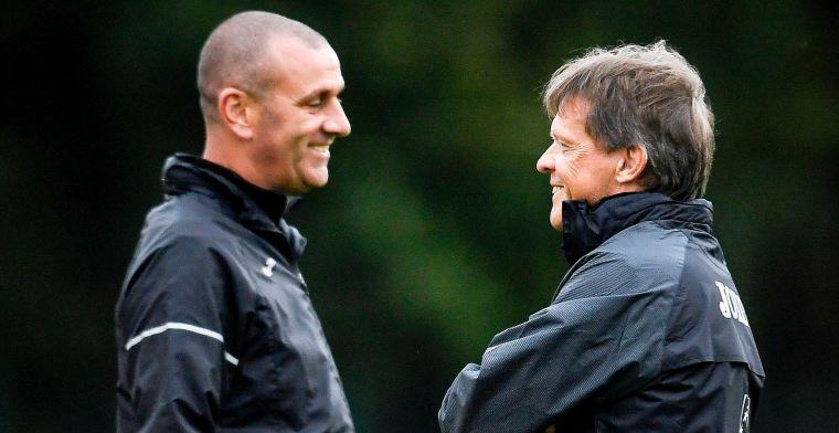 Vercauteren geeft eerste training bij Anderlecht, Vanden Borre meteen present