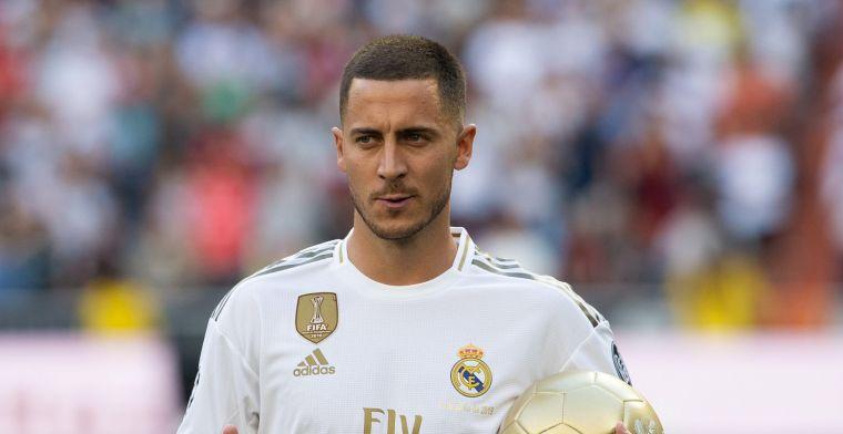 Hazard laat zich eindelijk zien bij Real Madrid: Hij heeft daar schijt aan
