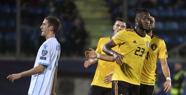 'Martinez gaat twee Rode Duivels rust geven tegen San Marino'