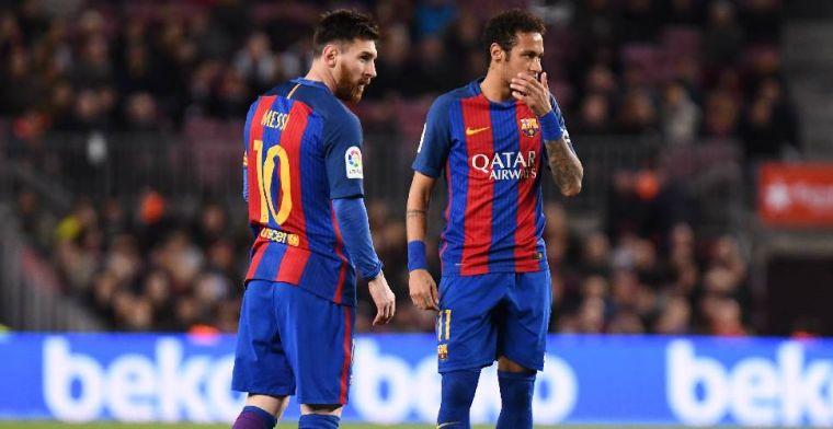 Messi: 'Neymar realiseerde zich dat hij een fout heeft gemaakt door te vertrekken'