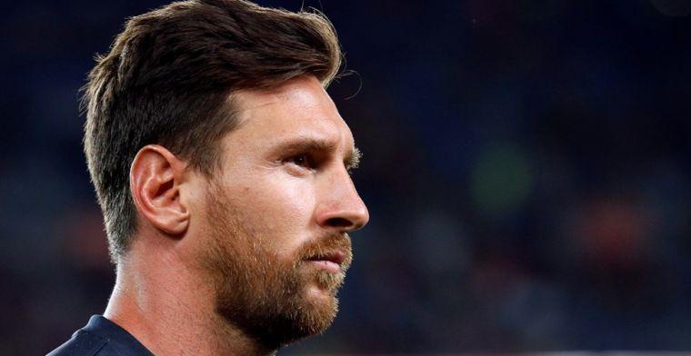 Pest kleine Mateo Messi papa Lionel met Origi?