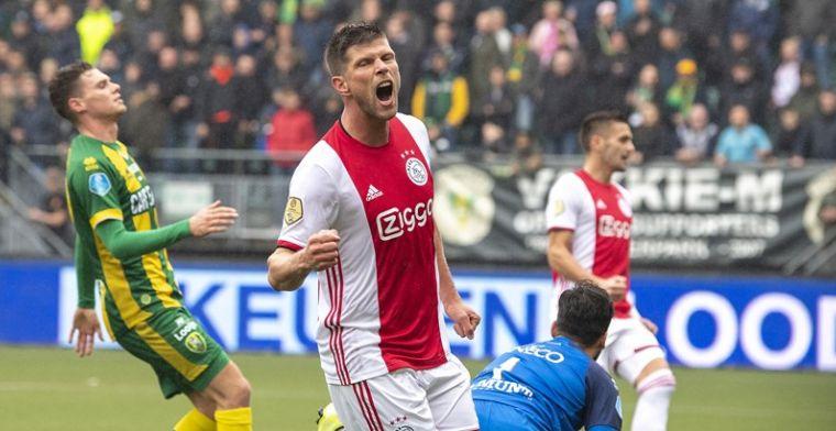 Huntelaar: 'Ze zeggen nu weleens: Ajax is een van de beste clubs van Europa'