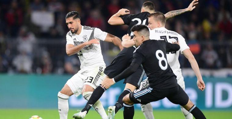 Duitsland geeft voorsprong weg in vermakelijke oefenwedstrijd tegen Argentinië