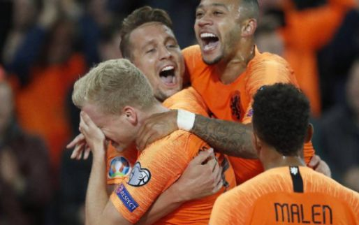 Afbeelding: Wat een escape: Oranje repareert achterstand en wint op z'n Duits van Noord-Ieren