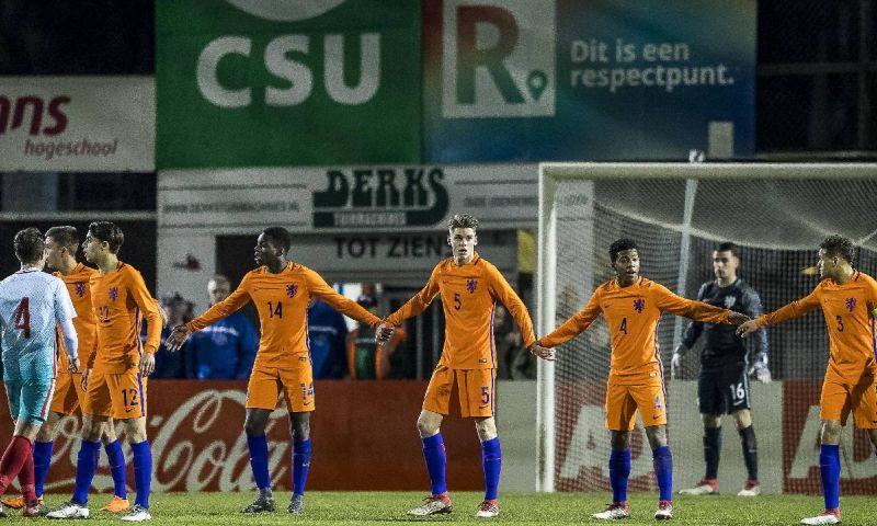 Afbeelding: Bizarre wedstrijd van Oranje O17 is nieuws in Europa: ongelooflijke statistieken