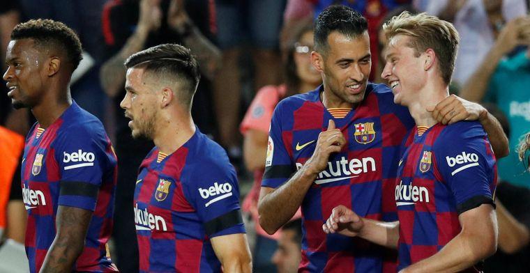 'Frenkie de Jong faalt nooit, de spelers van Barça hebben hem goedgekeurd'