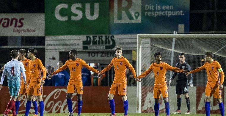 Bizarre wedstrijd van Oranje O17 is nieuws in Europa: ongelooflijke statistieken
