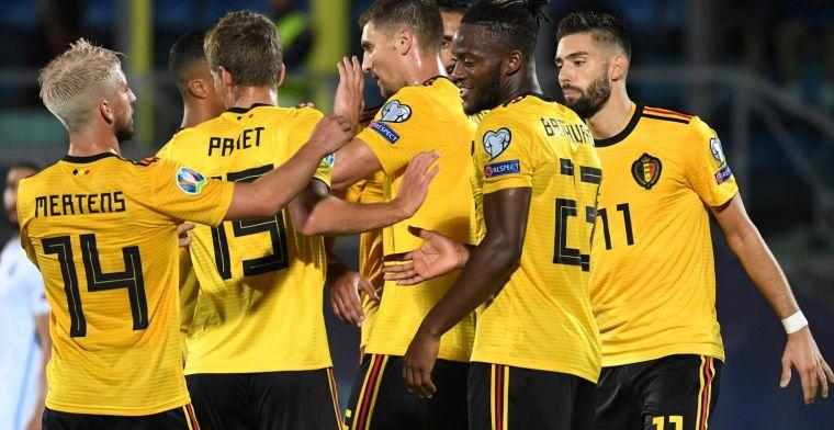 """Hoge verwachtingen Rode Duivels: """"Bij minder dan 5 goals zijn fans ongelukkig"""
