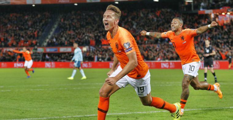 Spelersrapport: Depay blinkt uit bij overwinning van Oranje; drie onvoldoendes