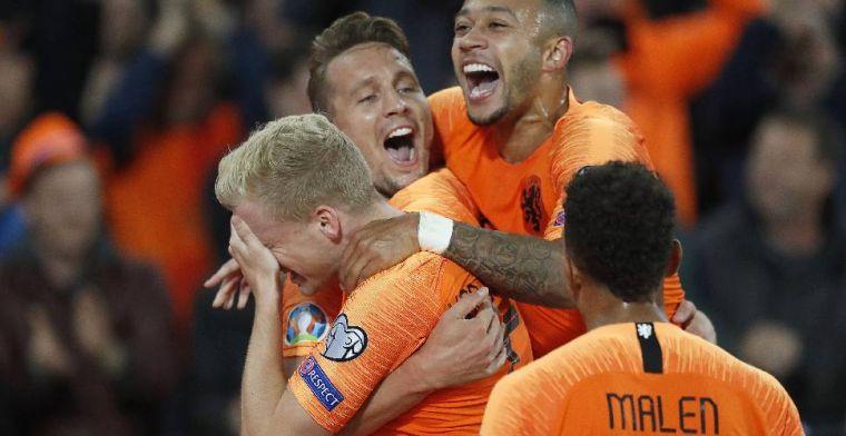 Wat een escape: Oranje repareert achterstand en wint op z'n Duits van Noord-Ieren
