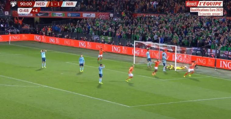 Uitgerekend Luuk de Jong: pinchhitter redt Oranje met eerste goal sinds tijden