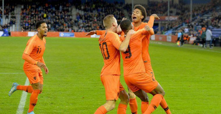 AZ-duo helpt Jong Oranje in moeizaam duel langs leeftijdsgenoten uit Portugal